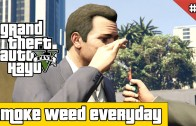Let's Play GTA 5 FR PS4 #7 Smoke weed everyday!