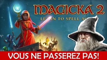 Magicka 2 learn to spell again! Vous ne passerez pas!